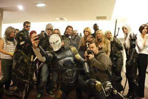 French Metal Gear Group by Gollum-net