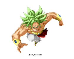 Broly by ryster17
