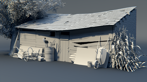 Old farm storage- WIP by DeargRuadher
