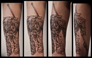 Leman Russ tattoo by Meatshop-Tattoo