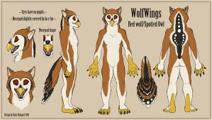 WolfWings Costume Design by Shadow-Wolf