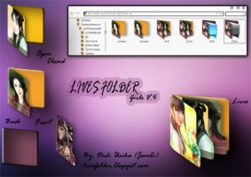 Lives Folder Icon Girls V4 by s4r1n994n