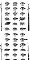 Eyeliner Styles by DamnBlackHeart