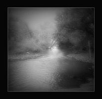 Misted Creek by GypsyMist