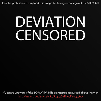 STOP SOPA by Lhezs