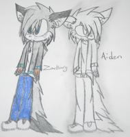 ~Zackary and Aiden Marson~ by ChibiChibiWoofWoof
