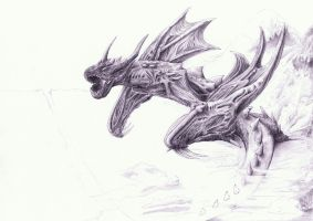 Attack on Titan Dragon (Scan 11) by Smashbrudda