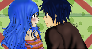 ~Juvia and Gray-sama~ by Mitsukichan17