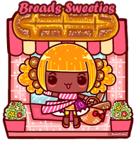 Breads Sweeties Girl by BeanPrince