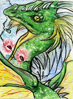 ACEO.: RennOBP by WhiteSpiritWolf
