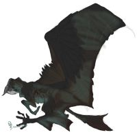 Lanian flying mount by spiralofvertigo