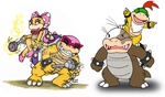 the other 4 little koopalings by Nintendrawer