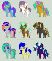 MLP Adoptables by Blooxi