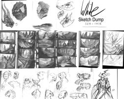 Sketchdump by Concept-Cube