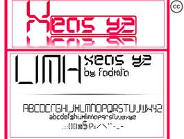 Lihm font by fodkito