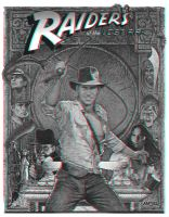 Raiders of the Lost Ark 3-D by MVRamsey