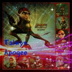 ( Ratchet and Clank ) Talwyn Apogee Collage by KrazyKari
