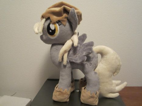 my little pony Derpy Hooves plush (commission) by Little-Broy-Peep