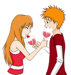 Orihime Loves Her Strawberry by ConcealedShadows