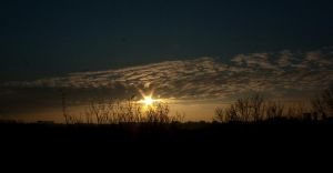 My today's sunset 0057 by steppelandstock