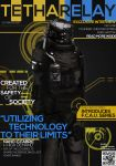 THETHA RELAY Zhen Industries Magazine Cover by PortableDrawer