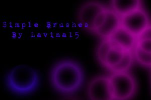 .:Simple Brushes:. by LavinaStock