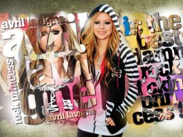 Avril Lavigne by canyonlord