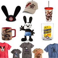 U.S.A Disney Store Oswald Merchandise by SonicBoyAnt