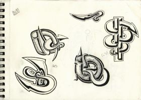 Some Tribal Sketches by webbugt