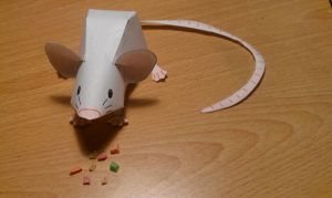 Mouse Papercraft by Horsegirl71496
