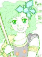Child Rydia by IceCoffin