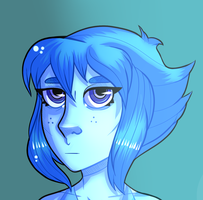 Portrait 06: Lapis Lazuli by PuddingOfDeath