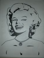 Marilyn Monroe by LoganM1988