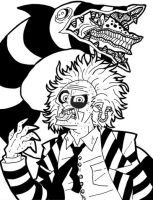 Beetlejuice by superleezard