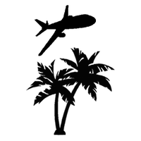 Palm Tree Airlines Clothes Decal by TacoApple99