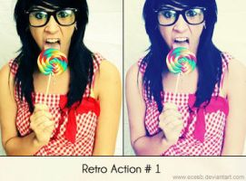 Retro Action 1 by EceSB