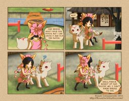Okamiden: Obviously Oblivious by Flowerlark