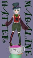 Mad Hatter - Digicoloured by SweetCatMint