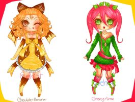 [POINTS] Favorite Flavour Adoptables ~ [OPEN] by Evehist