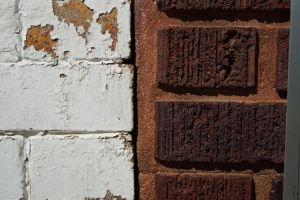 Bricks: Day and Night by bowtiephotography
