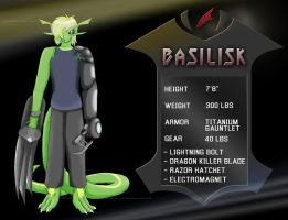 Basilisk - Deadliest Warrior by DarknessOfMemory