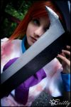 Higurashi - Rena Ryuugu and the hatchet by SharyNyanko