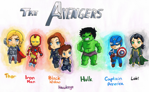 The Avengers by MrsTearie