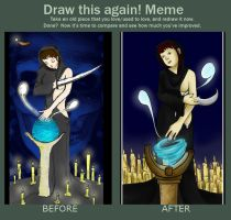 Meme: Before after by Silvestrin