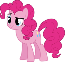 Pinkie Pie Unsure Vector by P0nies