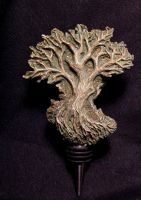 dryad winestopper, back view by DellamorteCo