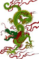 Dragon colored by frietje-met