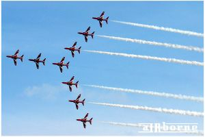 Red Arrows by airbornemail