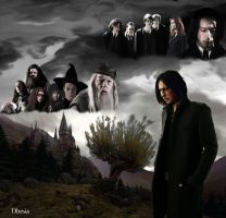 1981 Severus Snape by Dhesia