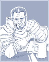 The most interesting Paladin in the world by TariToons